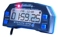 Stealth GPS-4  lap timer with Track Mapping