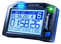 Corsaro GPS Lap timer with data acquisition provide a wealth of accurate information so you can precisely measure your progress on track. Easy to use with preloaded track maps, the software also lets you overlay data onto your videos.