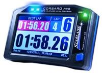 Corsaro PRO GPS Lap timer with data acquisition provide a wealth of accurate information so you can precisely measure your progress on track. Easy to use with preloaded track maps, the software also lets you overlay data onto your videos.