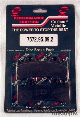 7572.95.09.2 Performance Friction Carbon Metallic Racing High Performance Brake Pad Set
