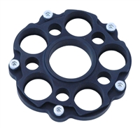 848 - Multistrada -  HyperMotard S2R and S4R type Sprocket Carrier - Black