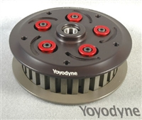Slipper clutch for Road Racing, AMA Flat Track racing, Supermoto and high performance riding.