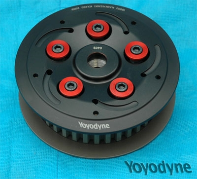 Slipper clutch for KX450F (06- ) and KLX450R (08- ) Flat track and Supermoto use.
