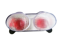 Kawasaki Ninja ZX-6R 1998-2002   ZX-9R 1998-2002-   Ninja ZR-7 2002 Integrated Tail Light - Smoke