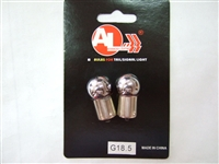 G18.5 Natural Amber Chrome Bulb