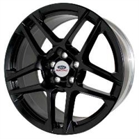 2013 MUSTANG SVT 5 SPOKE WHEEL SATIN BLACK (2005-14)