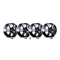F-150 SIX SPOKE 20-INCH X 8.5-INCH WHEEL KIT - MAT (M-1007K-P20XB) 2015-16