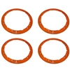 2017 RAPTOR BEAD LOCK WHEEL TRIM RING - ORANGE
