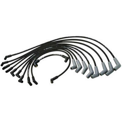 9 MM SPARK PLUG WIRE SET BLACK - FORD RACING