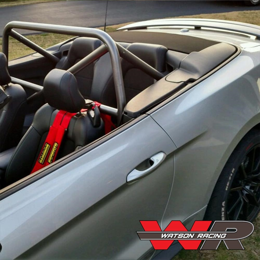 Mustang Convertible S550 4 Point Roll Bar Bolt In Roll