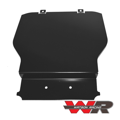 S550 MUSTANG - CENTER STACK PANEL, PLAIN (WR-15-CTRSTKPLAIN) 2015-2017