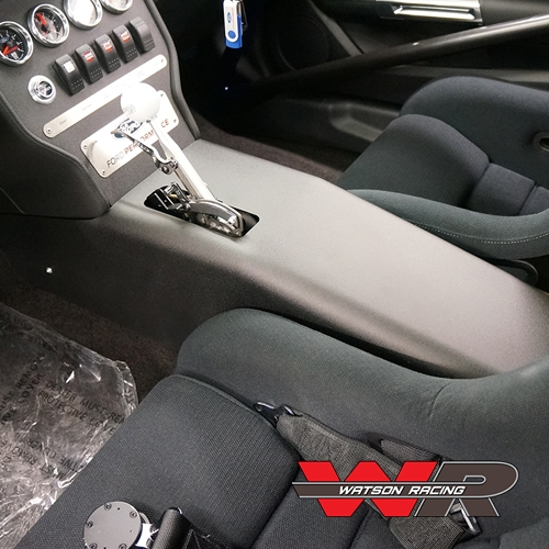 S550 Mustang Low Profile Aluminum Console 2015 2017