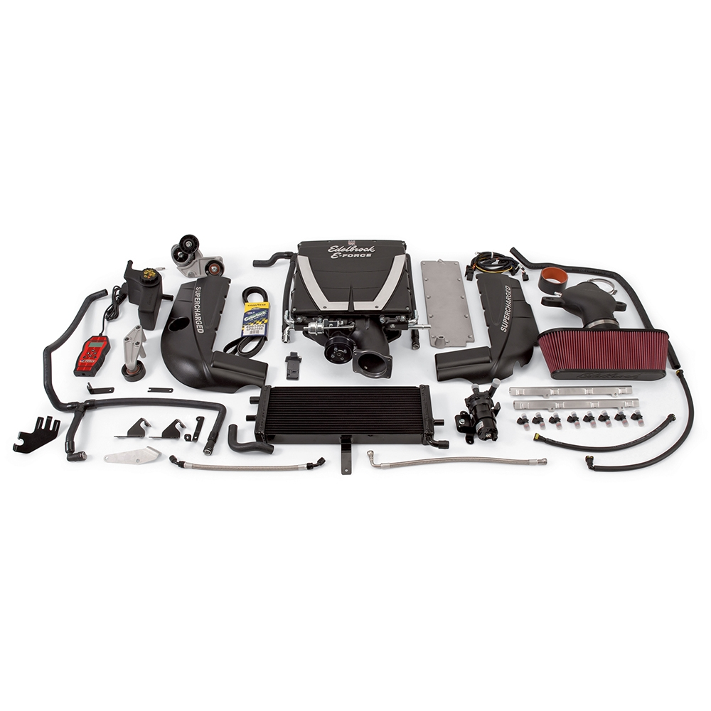 Supercharger, Stage 1 - Street Kit, GM, Corvette, LS2, With Tuner PN-1593  (2005-07)