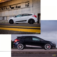 FOCUS ST MOUNTUNE DYNAMIC SIDE SPLASH - GREY (2363-SS-RG) 2013-16