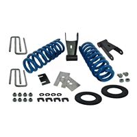F-150 LOWERING KIT - LESS JOUNCE BUMPERS (M-3000-H4) 2015-17