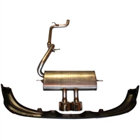 2012-2014 FOCUS HATCHBACK ST EXHAUST SYSTEM