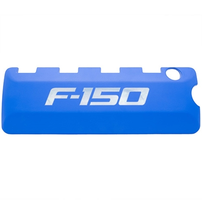 5.0L COYOTE BLUE COIL COVERS - 2011-2014 F-150 LOGO