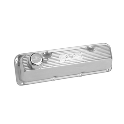 POLISHED ALUMINUM VALVE COVER