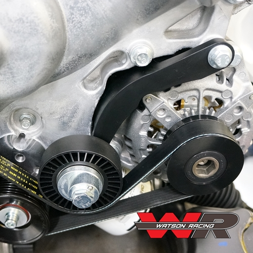 coyote alternator relocation kit (wr-altrelobrkt) 2005-17 1976 ford alternator wiring diagram coyote ford alternator wiring
