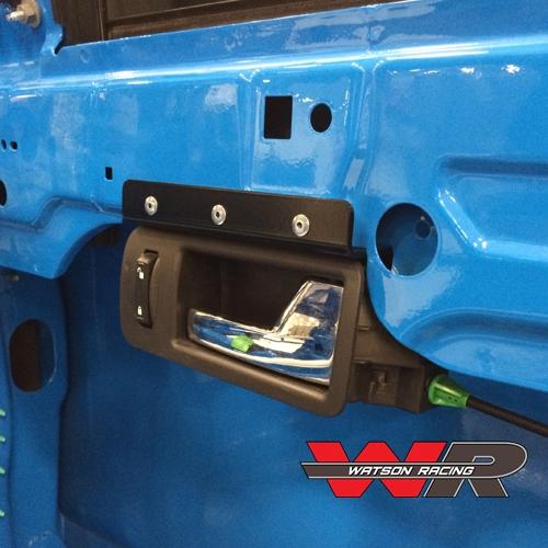 Mustang Road Race Interior Door Handle Mounting Bracket 2005 14