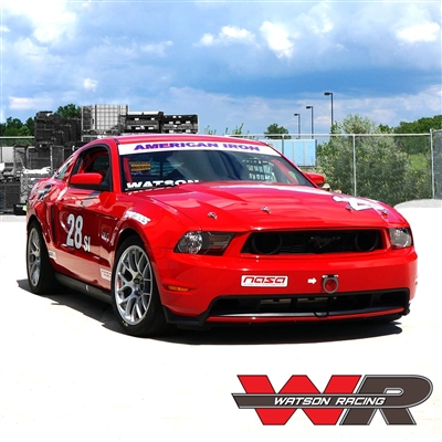 RED SPEC IRON MUSTANG ROAD RACE CAR