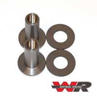Pin & Spools, available separately - Road Race/ Drag Race Mustang Spool Hood Pin Set
