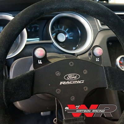 MUSTANG 2 BUTTON STEERING WHEEL BRACKET W/O BUTTONS