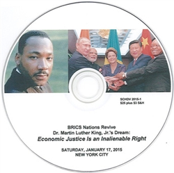 "Revive Dr. Martin Luther King, Jr.'s Dream<br><span style=""font-size:75%;"">New York City,<br>Jan. 17, 2015</span>"