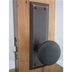 Antique Look Oil Rubbed Bronze Passage/Privacy Set with Latch
