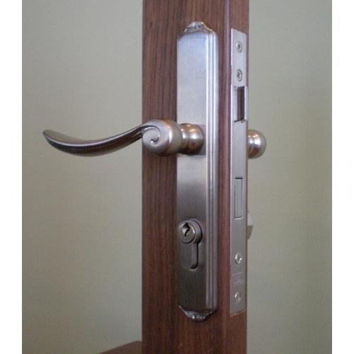 Mortise Storm Door Hardware & Satin Nickel   Storm Door Mortise Lock   Free Shipping! Pezcame.Com