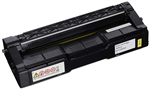 Ricoh SP C252DN Yellow 6,000 Page Yield Premium Compatible Toner