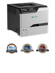 Lexmark CS725de Color Laser Printer with One-Year On-Site Warranty