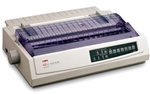 Okidata ml321 Turbo Dot Matrix Printer w/RS-232C Serial Refurbished 1-Year Warranty