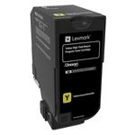 Lexmark CS725 High Yield 12K Yield Yellow Return Program