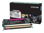 Lexmark C748H1MG Magenta C748de, 748dte, 748e Toner Cartridge High Yield 10K LCCP, LRP