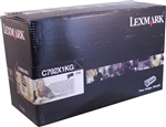 Lexmark OEM C792 Black Extra High Yield OEM 20K Toner Cartridge