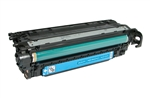 HP CE401A Cyan Toner Cartridge Standard Yield Remanufactured