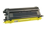 Brother TN110Y Yellow Toner Cartridge Standard Yield 1,500 Pages Remanufactured *FREE Shipping