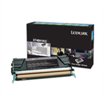 Lexmark X746, X748 OEM Black High Yield Return Program Toner Cartridge