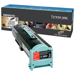 Lexmark X860, X862, X864 OEM Black Toner Cartridge X860H21G High Yield 35K