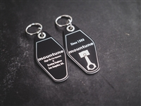 Mountune USA Vintage Hotel Style Key Tag | Mountune