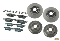 mountune Focus ST  Fast Road Brake Upgrade Package - 13-14