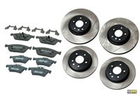 mountune Focus ST Fast Road Brake Slotted Upgrade Package - 14-18