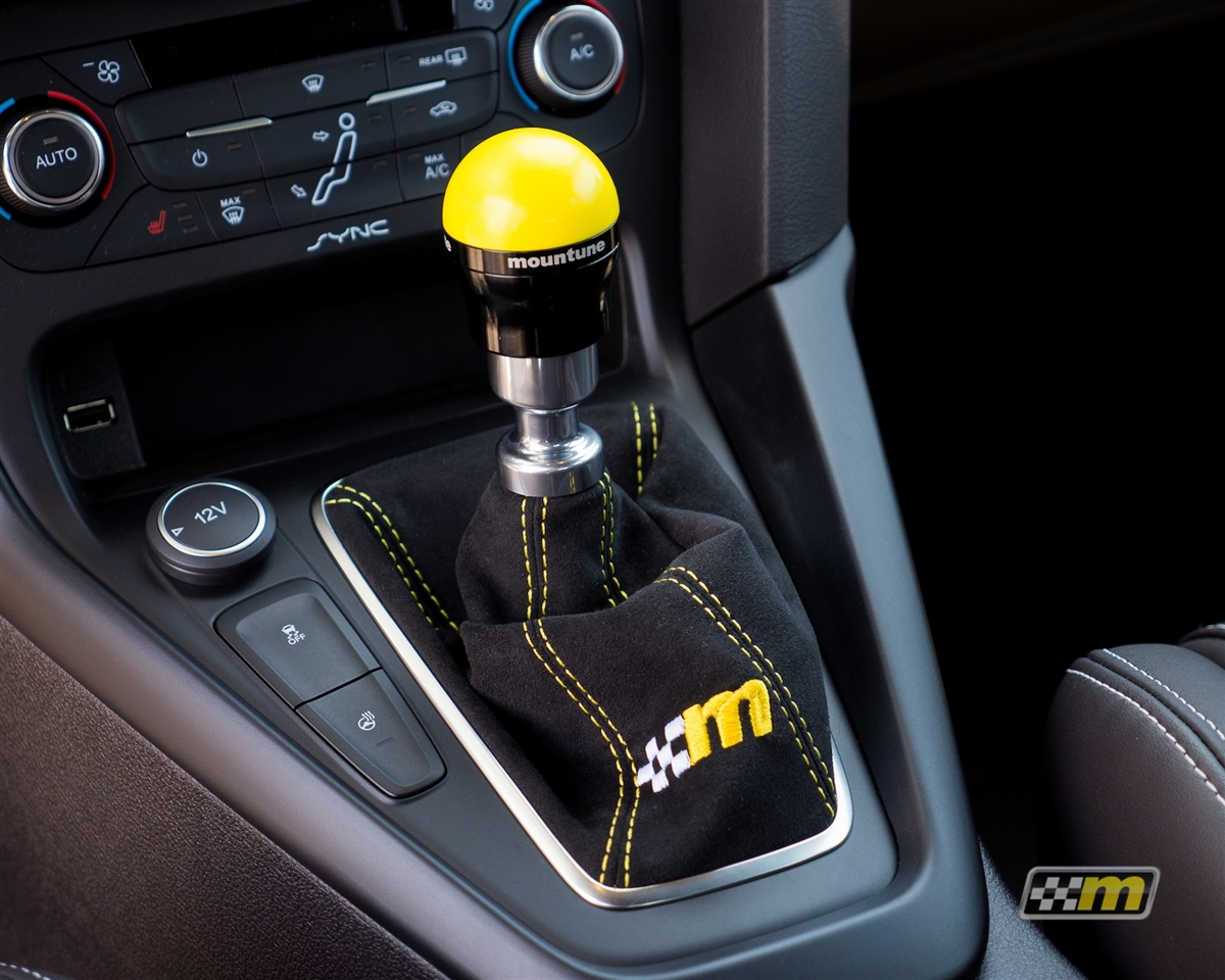 mountune Alcantara Shift Boot - Focus ST 2013-2018, 2363-SB-AA
