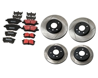 Mountune Fast Road Brake Upgrade Package Fiesta St W Slotted Rotors | Mountune