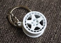 Fifteen52 Turbomac Wheel Design Key Chain Tag