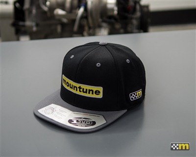 mountune Black and Grey FLEXFIT Track Hat