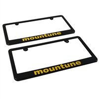 mountune Logo License Plate Frame set