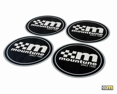 mountune Since 1980 Sticker Set