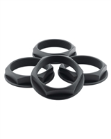fifteen52 Super Touring Hex Nut Set - Anodized Black